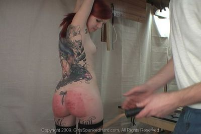 Girls Spanked Hard free